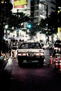 Stuck at the lights, Shibuya