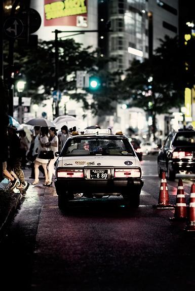 Stuck at the lights, Shibuya