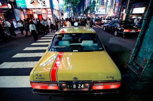 Pimps, hookers & taxis: Kanda