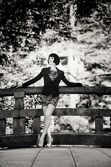 Fashion shoot: Meiji Jingu