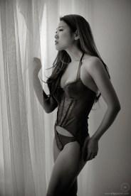 Yumi for Maison Close lingerie