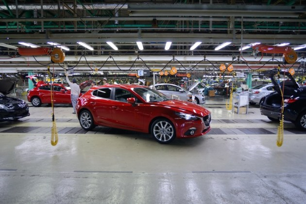 Shooting the new Mazda 3 for Mazda Magazine