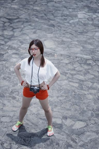 Location shoot with Ruri, Kyushu