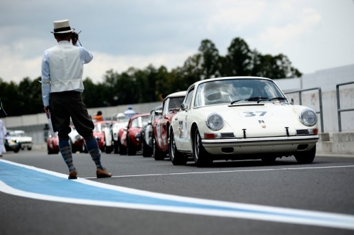 Tetsu Ikuzawa lining up: Sodegaura Raceway