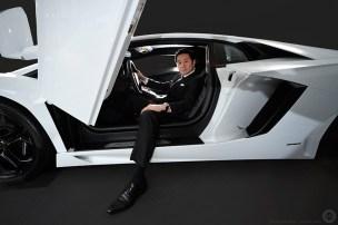Boss of Lamborghini Japan for Eurobiz Magazine