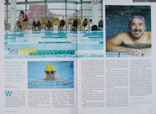 Feature in swimming for Toyko American Club