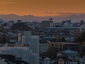 Tokyo city landscape & bullet-train with Hasselblad H4D-40 and HC 300mm lens