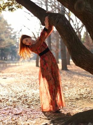 Reverie, fashion shoot in Yoyogi Park