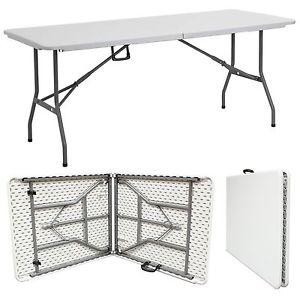 Lifetime Plastic Foldable Table