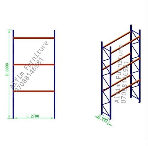Alfim furniture warehouse pallet storage rack