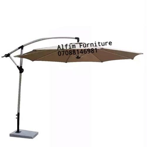 offset beach umbrella canopy