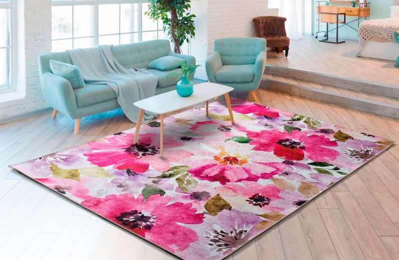 Alfombra Motivos Florales Bouquet 92 Multi