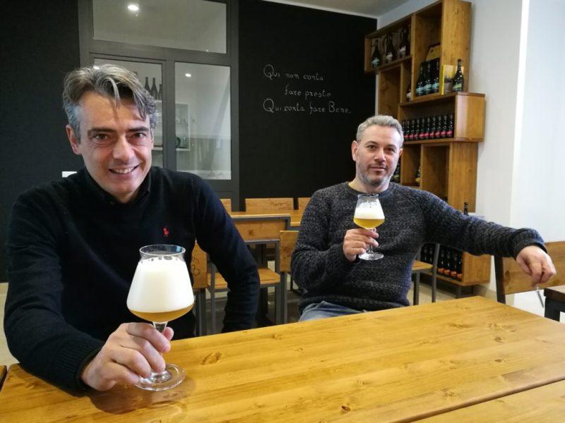 Francesco-Galano-e-Giuseppe-Schisano-del-Birrificio-Sorrento