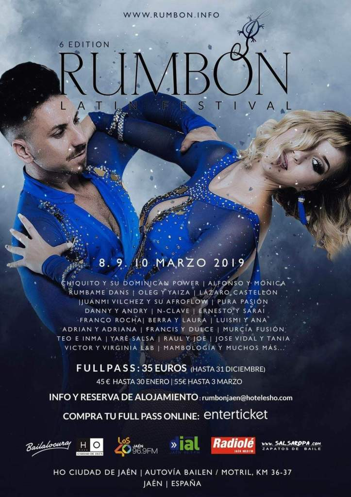 6 Edition - Rumbón Latin Festival