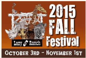 Lazy 5 Ranch Fall Festival