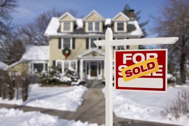 Sold home winter