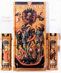Retaule-gotic-Sant-Miquel-Alforja