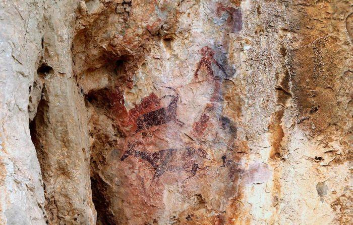 pintures rupestres abric de Cabrafeixet