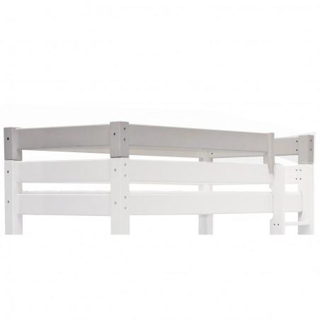 barrieres supplementaires blanches pour lit haut 90x200 lilja