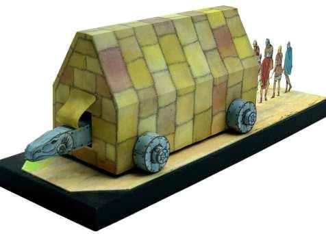 Ariete d'assedio romano