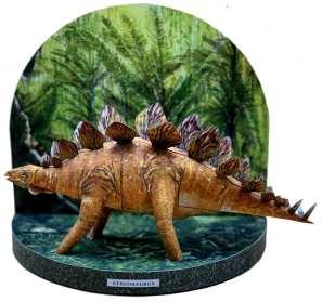 Diorama dinosauri - Stegosauro