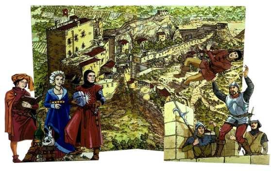 Les Baux de Procence - in epoca medievale