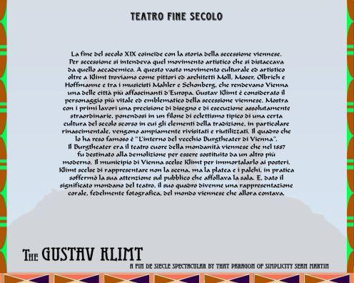 Teatri scenografici - Teatro fine secolo