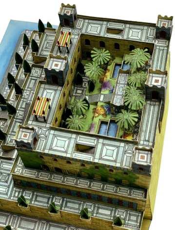 Giardini pensili di Babilonia - 7 Meraviglie