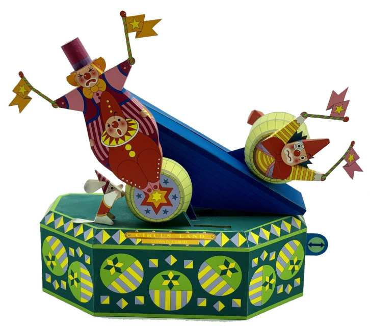 Circus Land - Clown in barile