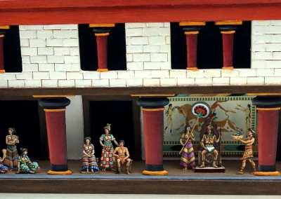 Zinnfiguren diorama – Cnosso