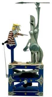 Keith Newstead - The sculptor