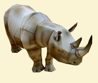 Rinoceronte - Africa