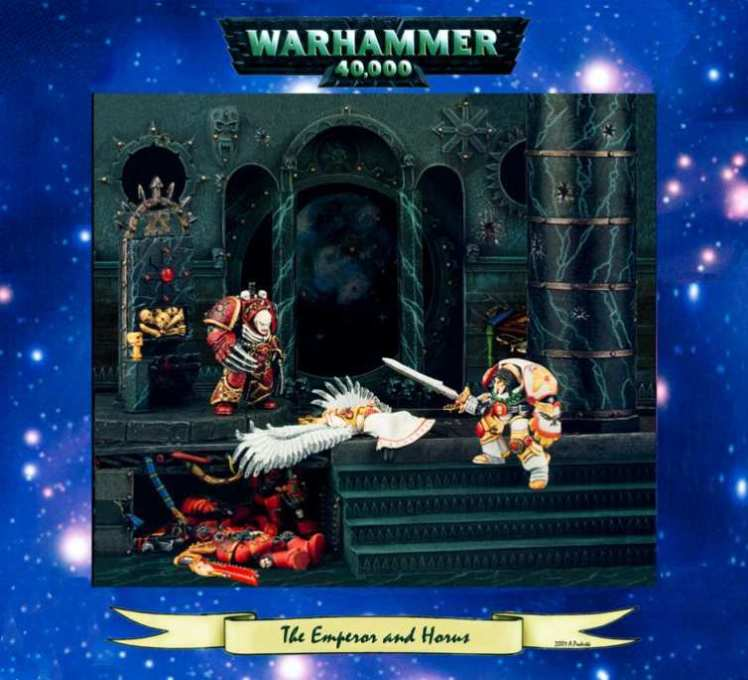 Warhammer 40K - The Emperor and Horus