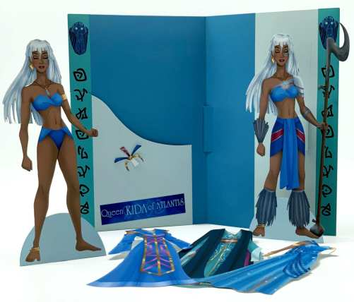 Queen Kida of Atlantis