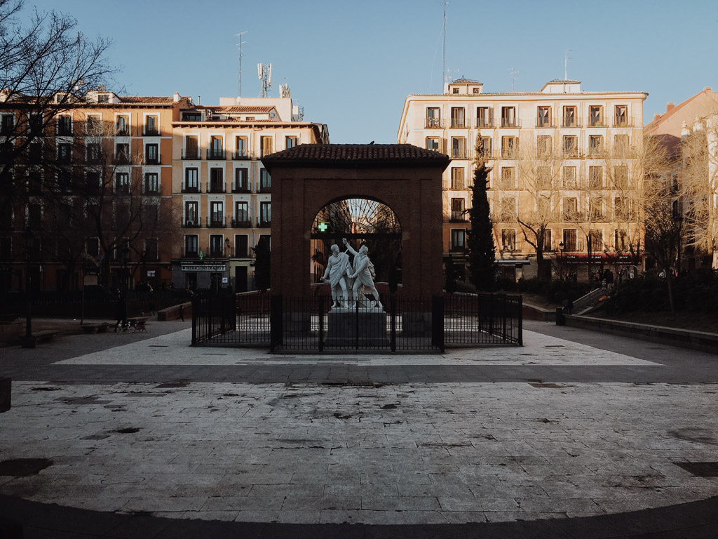 Plaza del dos de mayo. Madrid. By Alfredo Liétor Photography