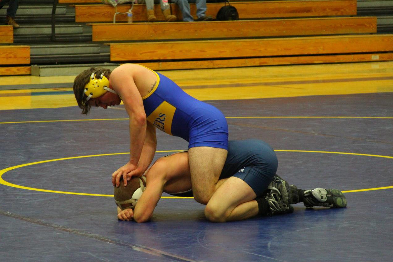 Alfred State Wrestling Vs Penn State DuBois Alfred