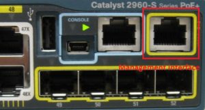 How to configure management interface on Cisco 2960X / 3650 / 3850