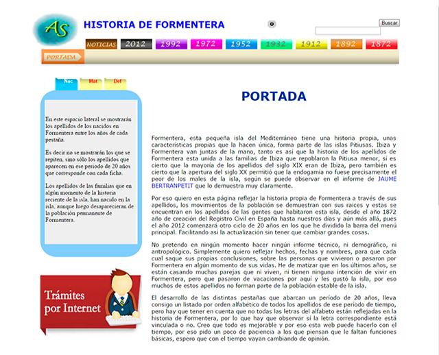 HISTORIA DE FORMENTERA