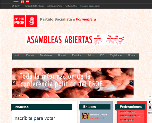 PSOE FORMENTERA