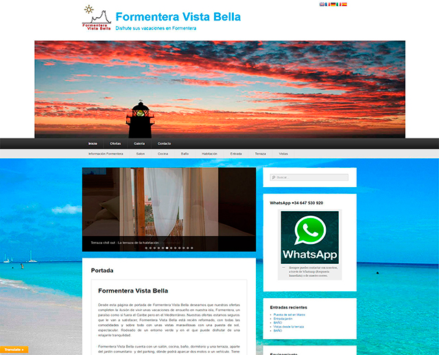 FORMENTERA VISTA BELLA