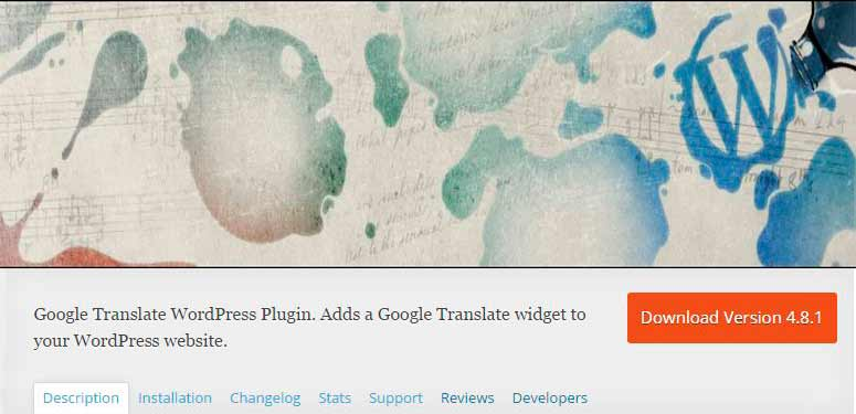 PLUGIN WP TRANSLATE