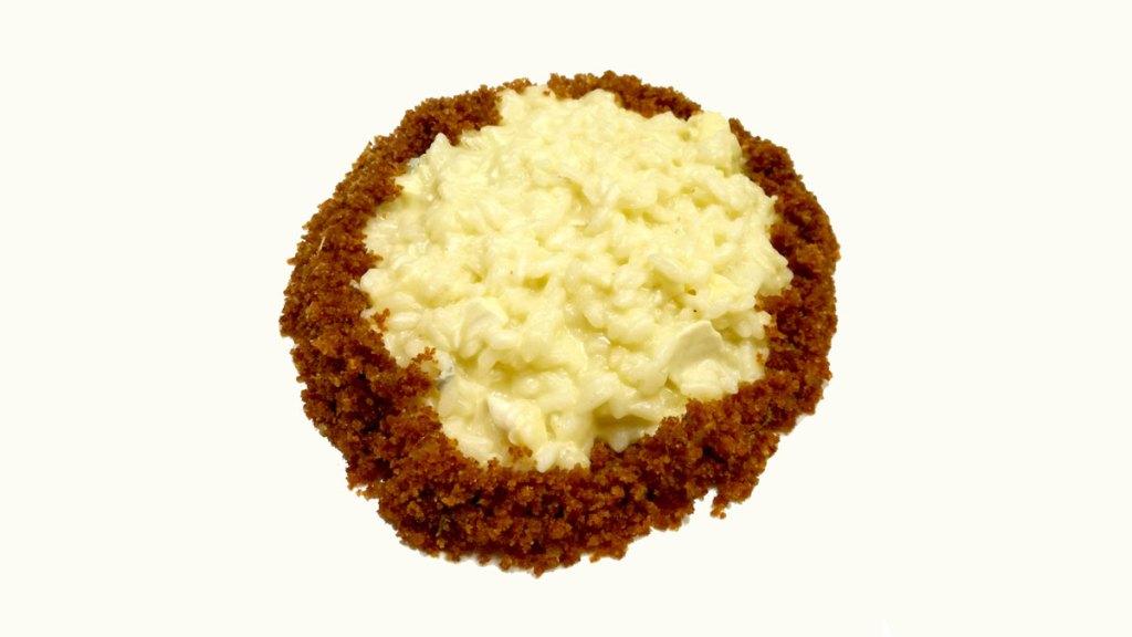 Risotto al Brie con pane e cipolle