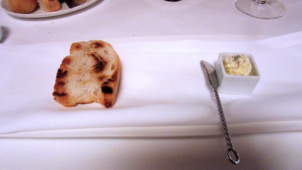 Pane e burro arrostito