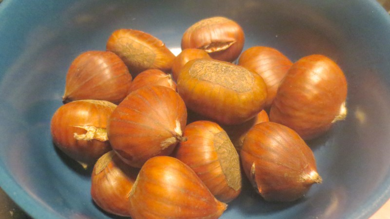 Castagne nel microonde