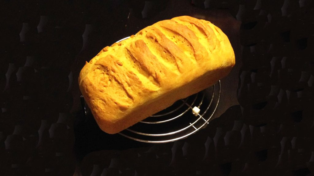 Pan brioche al curry