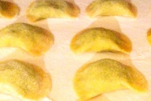 Ravioli ripieni di broccoli