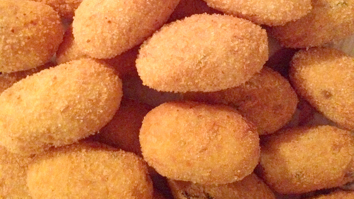 Frittelle di baccalà