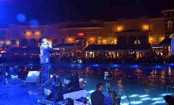 بالصور ثنائي أراب أيدول يشعلان ليلة رأس السنة في بورتو