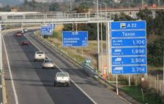 Algarve toll road