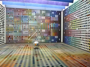 Work by Yaakov Agam in the Centre Pompidou, Paris